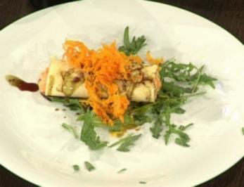 Zander auf Tomaten mit Buttermilch (Susi Erdmann) - Rezept