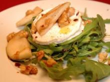 Ziegenkäse auf frischem Sommersalat - Rezept