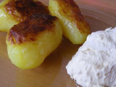 Kartoffeln mit Zwiebeldipp - Rezept