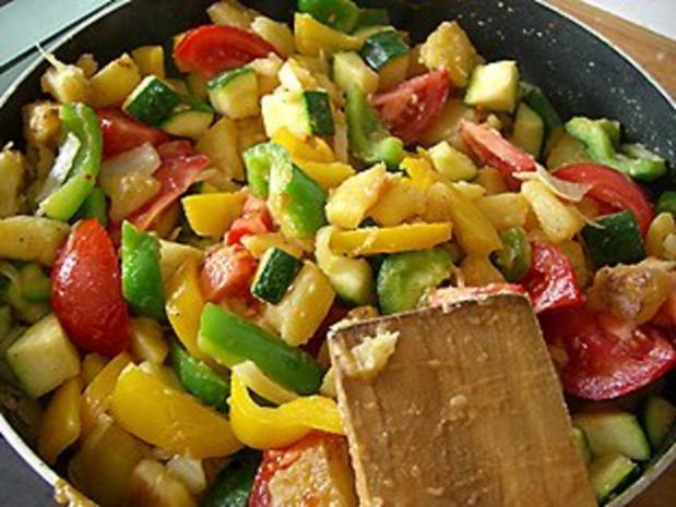 Gemüse- Pfanne - Rezept - Bild Nr. 3