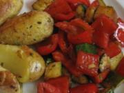 Paprika-Zucchini-Gemüse - Rezept