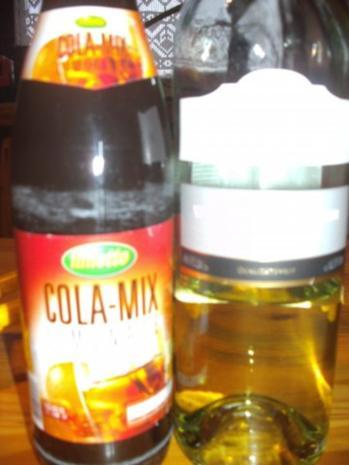 Getränk m. A.: Cola - weiß - Rezept - Bild Nr. 2