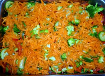 Bunter Gemüseauflauf - Rezept