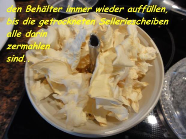 Diverses:   SELLERIEPULVER + getrocknete Blätter - Rezept - Bild Nr. 3