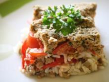 Tomaten-Hackfleisch-Auflauf - Rezept