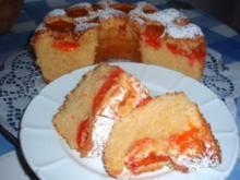 Kuchen: Aprikosen-Kranz-Kuchen - Rezept