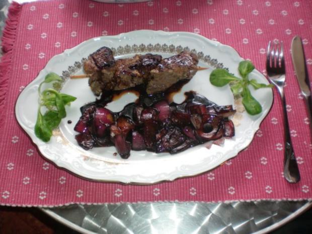 Lammspieße mit Balsamico-Zwiebeln - Rezept - Bild Nr. 6