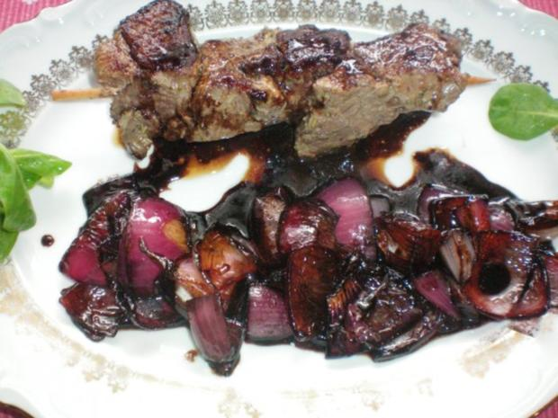 Lammspieße mit Balsamico-Zwiebeln - Rezept - Bild Nr. 8