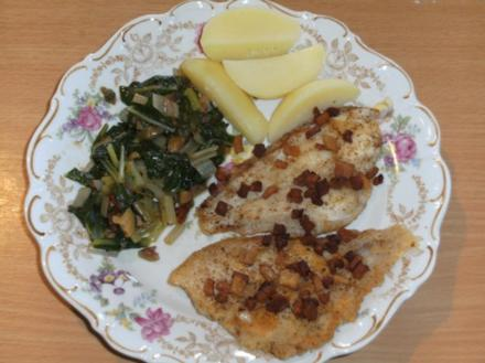 Beilage: Mangold-Gemüse, Siziliana - Rezept