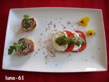 ANTIPASTO: INVOLTINI DI PARMA E PIÙ - Parmaschinkenröllchen und mehr - Rezept