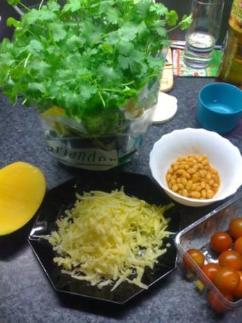 Hähnchenburritos mit Mango-Salsa und Pico de Gallo - Rezept - Bild Nr. 4