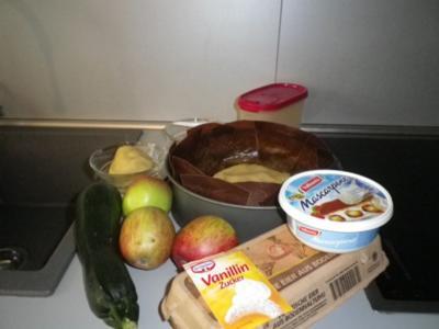 Zucchini apfel kuchen rezept