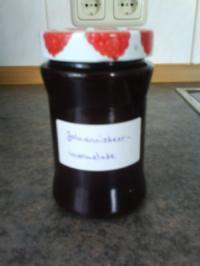 Schwarze Johannisbeermarmelade - Rezept