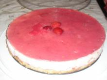 Erdbeer-Joghurttorte - Rezept