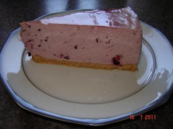 Kuchen & Torten : Schwarze Johannisbeer-Torte - Rezept