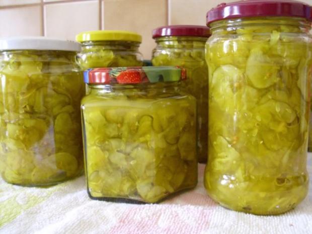 Curry Gurken - Rezept