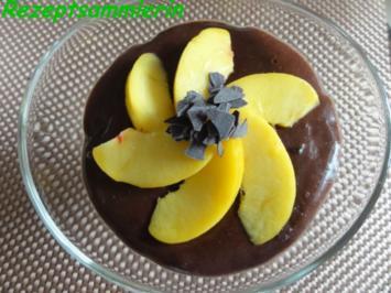 Dessert:  SCHOKOPUDDING als Decke für... - Rezept