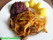 Fleisch:    STIELKOTELETT mit Chillizwiebeln - Rezept