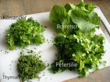 Gartenkräuter für den Winter - Rezept