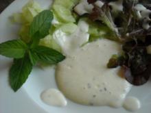 """Salatdressing """"Minze"""" - Rezept"""
