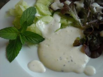 """Rezept: Salatdressing """"Minze"""""""