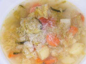 Minestrone di verdure - Rezept
