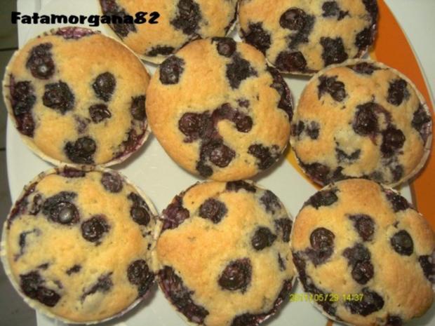 Blaubeer Muffins - Rezept