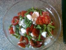 warmer Tomaten - Bohnen Salat - Rezept
