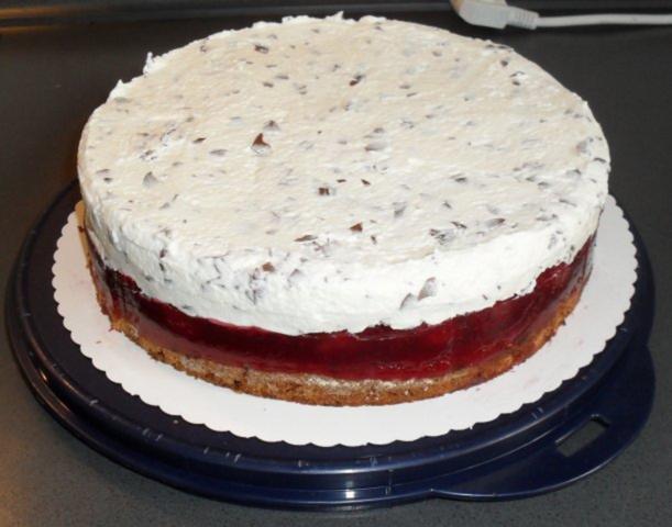 Kirsch Sahne Kuchen Rezept Mit Bild Kochbar De