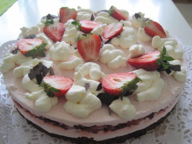 Erdbeer Quarkcreme Torte Rezept Mit Bild Kochbar De