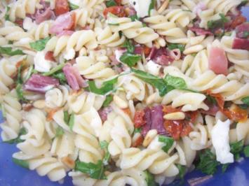 Nudelsalat auf italienisch - Rezept