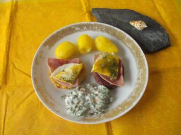 Beilage / Gemüse: gebackene Scheiben - Rezept