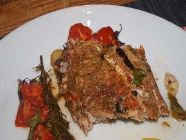 Mediteranes Fischfilet aus dem Ofen  (Filetti di pesce siciliano dal forno) - Rezept - Bild Nr. 2