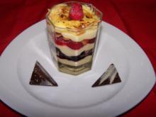 Vanille-Pudding mit Früchten lauwarm, einfach & nur lecker - Rezept