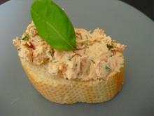 Tomaten-Basilikum-Aufstrich - Rezept
