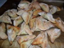 Teigtaschen gefüllt mit Spinat-libanesisch - Rezept