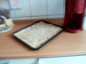 Rezept: Pizzateig ohne Hefe