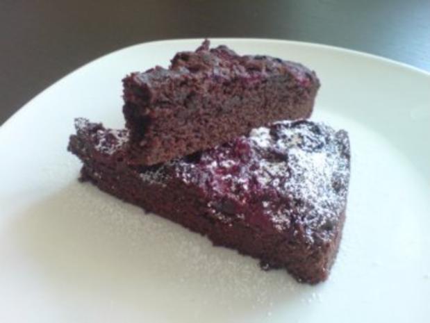 Schoko Kirsch Kuchen Rezept Mit Bild Kochbarde