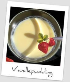Vanille Pudding - Rezept