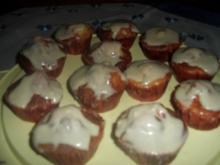Bananen-Muffins mit Zimtglasur - Rezept