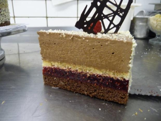 Schokoladen- Himbeertorte - Rezept - Bild Nr. 2