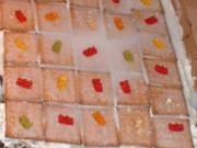 Gummibärchenkuchen. - Rezept