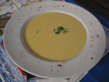 Zucchinicremesuppe nach meiner Art - Rezept