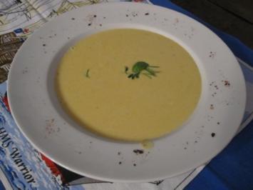 Rezept: Zucchinicremesuppe nach meiner Art