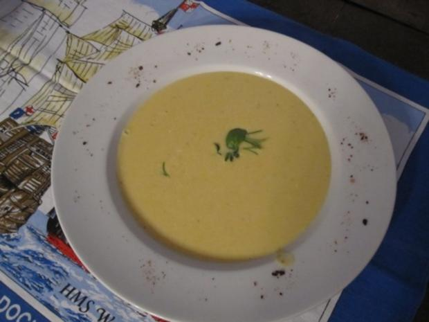 Zucchinicremesuppe nach meiner Art - Rezept - Bild Nr. 2