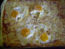 Eier-Pizza - Rezept