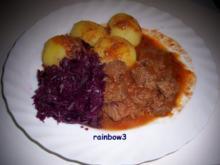 Kochen: Französisches Gulasch ... bei Niedrigtemperatur gegart - Rezept