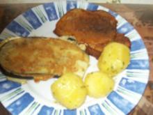 Irenes Aubergine -Sandwich mit und ohne Belage - Rezept