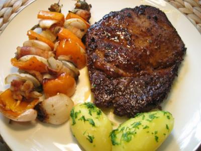 Ribeye Steak - klassisch ... - Rezept