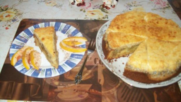 Irenes Rhabarberkuchen mit Eierlikör und Baiser - Rezept - Bild Nr. 2